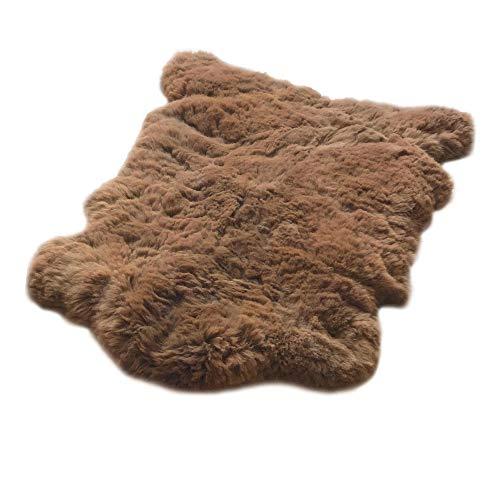 Incari auténtica piel de alpaca como alfombra o manta de sofá, fabricación...