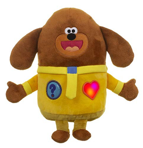 Hey Duggee Interactive Smart Soft Toy | 3 Ways to Play | Voice Activated | Ask Questions: Duggee Woofs! | With TV Show Sounds | Lights Up | Ages 10m