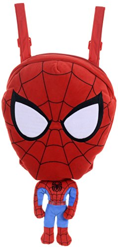 Marvel Spiderman Morbido Peluche Zaino
