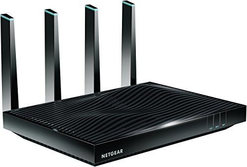 NETGEAR Nighthawk X8 AC5000 Tri-band WiFi Router, Gigabih Ethernet, MU-MIMO, Compatible with Amazon Echo/Alexa (R8300)