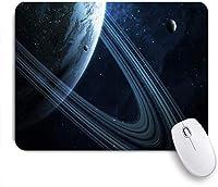 KAPANOUマウスパッド グラフィック宇宙空のシーン惑星スタースパーク銀河外側の科学夜抽象的なデザインスペース ゲーミング オフィ良い 滑り止めゴム底 ゲーミングなど適用 マウス 用ノートブックコンピュータ