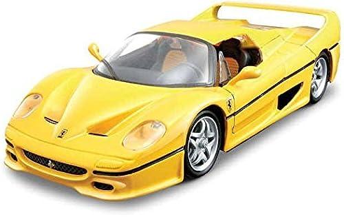 Precio al por mayor y calidad confiable. Ferrari F50 F50 F50 amarillo 1 24 by Bburago 26010 by Bburago  compras de moda online