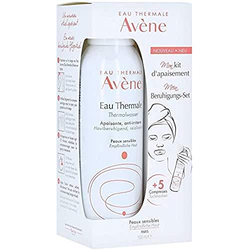 Avène - Spray de agua termal + 5 paños, 150 ml