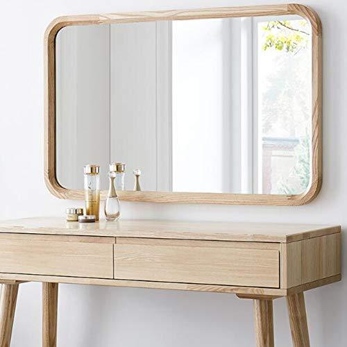 Espejo de Pared Grande/Espejo de Marco de Madera Rectangular/Espejo Retro de decoración del hogar/para la Entrada del tocador, baño, Dormitorio (22 Pulgadas x 35 Pulgadas)