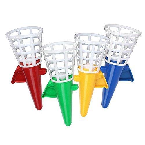 Schramm® 12-Pack Catch The Ball Petit 12cm Catch Cup Jeu Mitgebsel Tombola Anniversaire de l'enfant