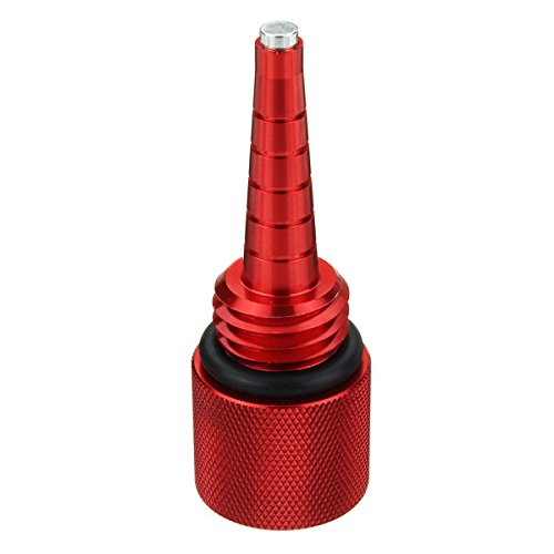 Alamor Filtro magnético de la Varilla de Nivel del Aceite para el generador EU1000i EU2000i EU20i EU10i de Honda - Rojo