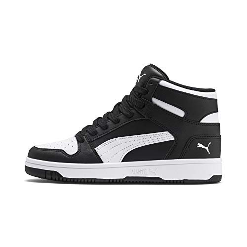 PUMA Rebound Layup SL Jr, Baskets Mixte Enfant, Black...