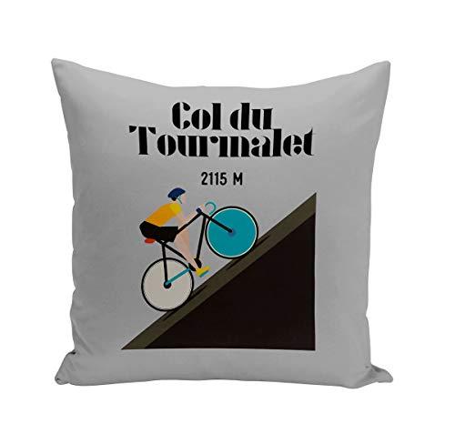 Fabulous Coussin 40x40 cm Col du Tourmalet Vélo France Cyclisme Tour Course Pyrénées