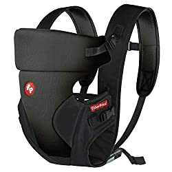 Fisher-Price - Bella Baby Carrier (Black),Tiffany Designs Private Limited