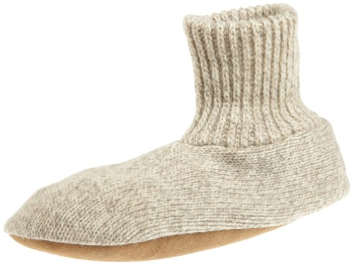 MUK LUKS Men's Morty Slipper,Natural,Medium(8.5-9.5)
