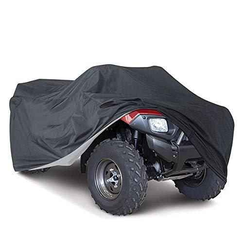 VVHOOY ATV Abdeckung Wasserdicht ATV Quad Abdeckung Winterfest Staub Regen UV-Schutz Heavy Duty Quad Abdeckung Geeignet für die meisten Arten von ATV für Honda Polaris...