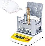 CGOLDENWALL AU-900K - Comprobador electrónico digital de pureza de oro, máquina de pruebas de metales preciosas, máquina de prueba de pureza dorada, equipo de asistencia dorado, detector de karat