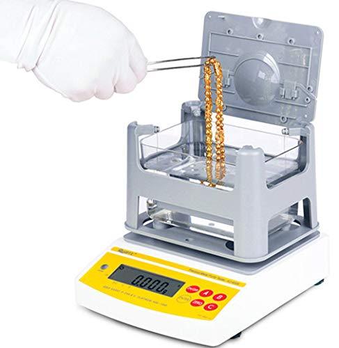 CGOLDENWALL AU-1200K Digital Electrónico de Oro Probador Analizador/Analizador de pureza de metales preciosos Medidor de Medición Máquina de Pruebas de Karat de Oro Contenido de Oro Densidad de oro
