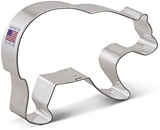 Ann Clark Cookie Cutters Grizzly Bear Cookie Cutter, 5.25