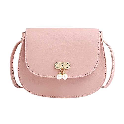 Handtasche Frauen Kleine Quadratische Tasche Sommer Umhängetasche Perle Dekorative Umhängetasche Mini/Rosa