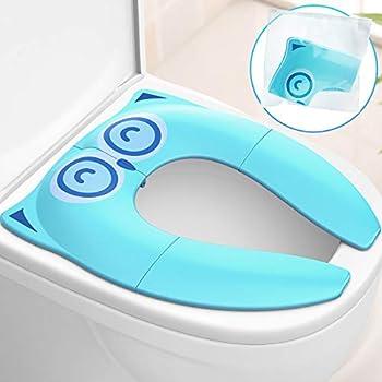 Gimars Upgrade Stable Folding Travel Portable Potty Training Seat