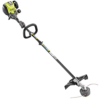 Ryobi 4-Cycle 30cc Attachment Capable Straight Shaft Gas Trimmer RY4CSS 18 in cutting width