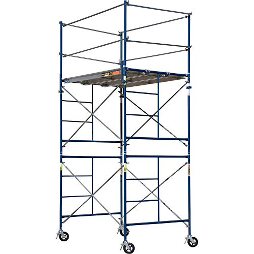 cheap Metaltech SAFERSTACK Complete 2-piece scaffolding system for tall towers, model number M-MRT5710
