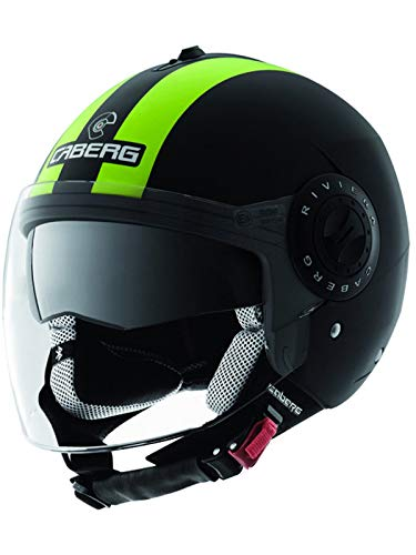 Caberg Riviera V2+ Legend Hi-Vision Motorcycle Helmet XS