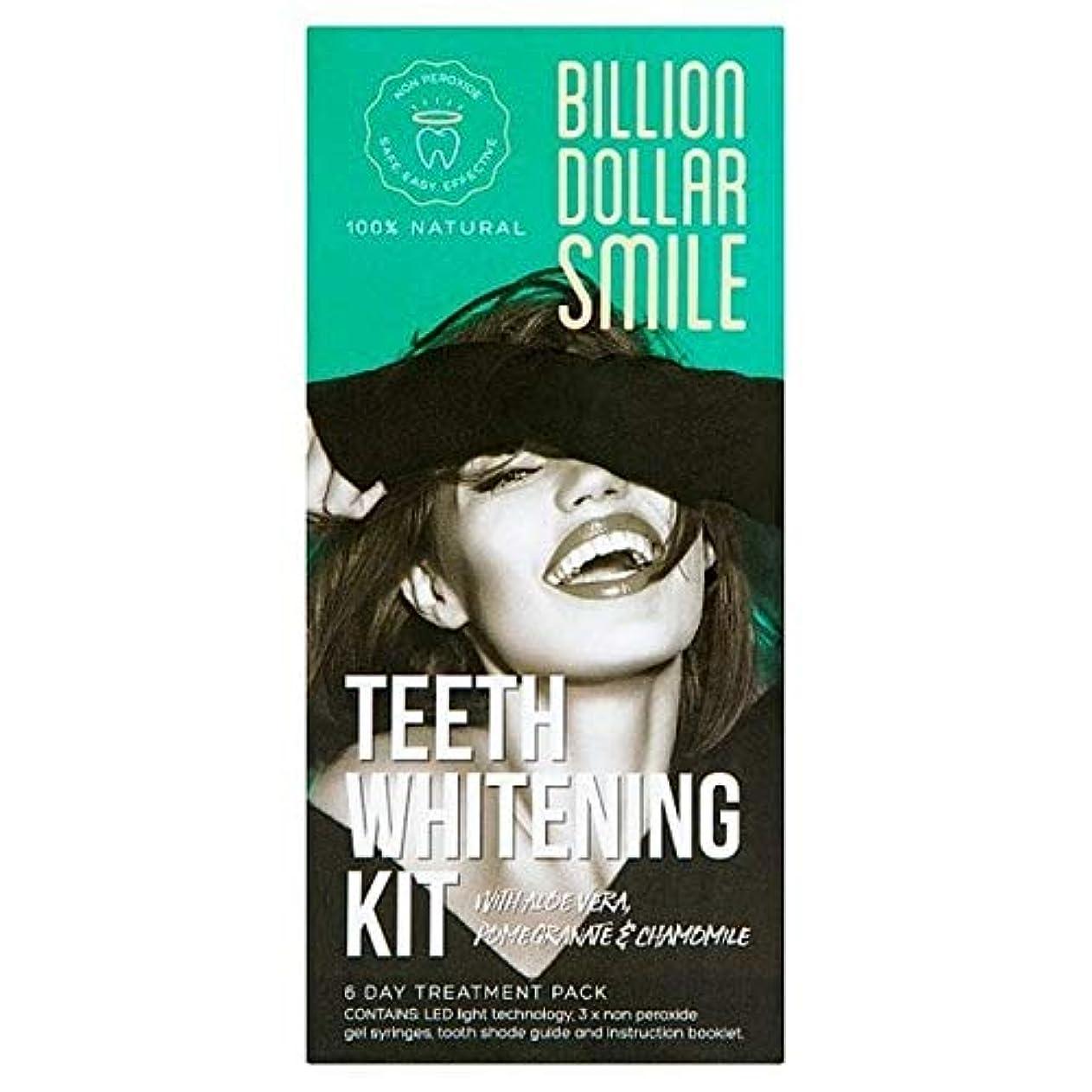 バン横極地[Billion Dollar Smile ] キットを白く億ドルの笑顔歯 - Billion Dollar Smile Teeth Whitening Kit [並行輸入品]