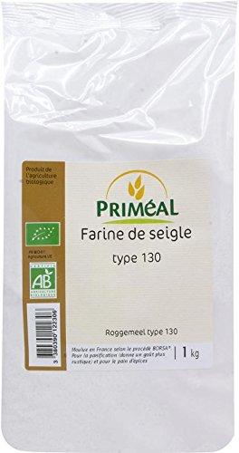 Priméal Farine de Seigle France T130 1 kg- bio