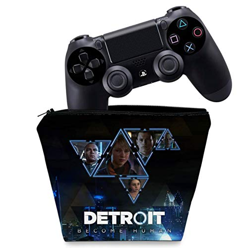 Capa PS4 Controle Case - Detroit Become Human