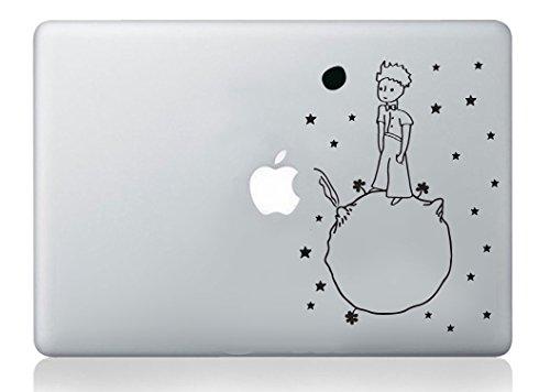 Pegatina de vinilo decorativa con diseño de El Principito para Macbook de Apple
