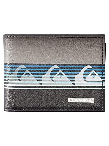 Quiksilver Accesorio de Viaje- Billetera Plegable Triple, Negro