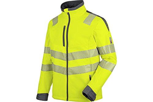 WÜRTH MODYF Warnschutz Softshelljacke Neon EN 20471 3 gelb anthrazit: Die zertifizierte Jacke aus der German Design Award Winner Kollektion 2019.