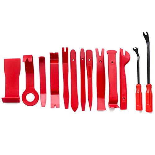 MZH QRYY PC Pry Demontage-Tool Rot Auto Auto Audio Dash Tirm Panel Installer Dashboard Entfernen Öffnung Reparaturwerkzeuge Kit Innentür Modellierung Clip-Set