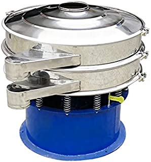 YUCHENGTECH Vibrating Sieve Machine Automatic Sifter Shaker Machine 23.2in for Powder Solid Liquid with One Sieve (220V)