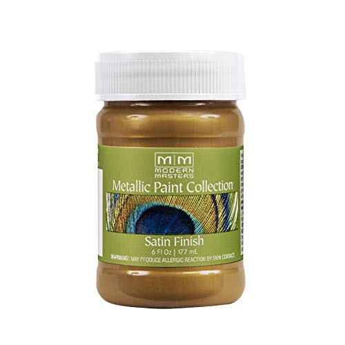 Modern Masters ME289-06 Metallic Brass, 6-Ounce