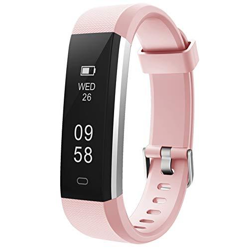 Pulsera de Actividad Inteligente, Sumergible Reloj Deportivo IP67 Smartwatches Cómodo con Pantalla Táctil Longitud Ajustable para Hombres y Mujeres