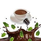 50 Capsule After Eight Cioccolato Menta - Cialde Compatibili Nespresso