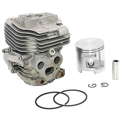 LIBEI Kit de pistón de cilindro de 51 mm para Husqvarna K760 II K760 Active II K770 581476102 581476103