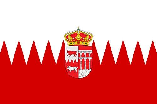 magFlags Bandera Large Bustarviejo, en Madrid España   Bandera Paisaje   1.35m²   90x150cm
