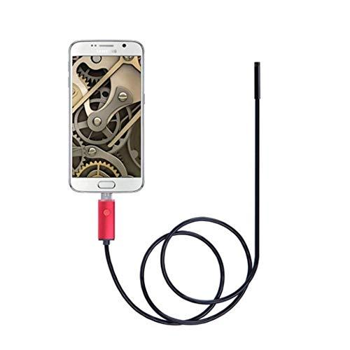 RUIXFRU Industrieendoskop, USB-Endoskop, Endoskopinspektion, Rohrrohrkamera, Soft Wire
