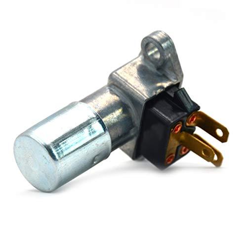 Rendeyuan Interruptor de luz de automóvil Atenuador de Interruptor de luz de Cruce de Haz Alto para Jeep Accesorios de actualización de automóvil - Plata