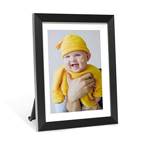 Cornice digitale AEEZO Schermo touch da 9,7 pollici IPS Display FHD 2K, 16 GB di spazio di archiviazione, rotazione automatica, WIFI Cloud Photo Frame