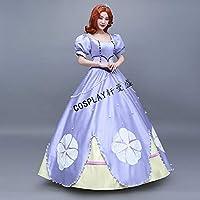 ドレス ドレス プリンセスドレス コスチューム プリンセス ワンピース レディース キャラクター ドレス ロング ロングドレス MTE735 L [並行輸入品]