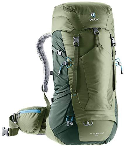 Deuter Futura Pro 36 - Giacca da donna, Donna, Zaino da escursionismo (fino a 45 L), 3401118, cachi-avorio, 36