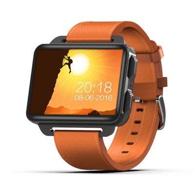 CMYY Mode Smart horloge HD afstandsbediening camera wifi downloaden Fitness Tracker Smart Horloge Stappentellers Hartslag Monitoren SIM-Gratis Mobiele telefoons & Smartphones, size, ORANJE