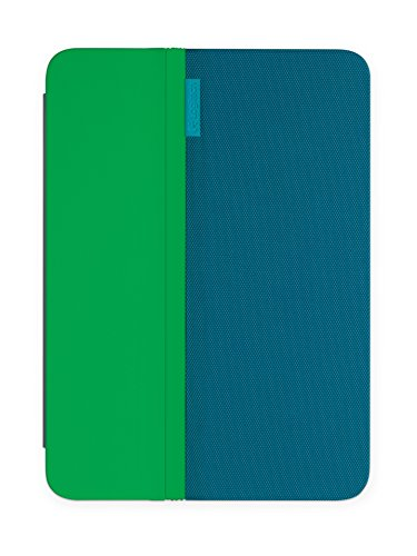 Logitech AnyAngle Custodia Protettiva con Supporto Inclinabile per iPad Mini, Verde Verde Acqua