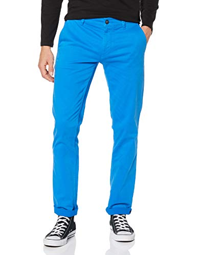 BOSS Herren Schino-slim D Hose, Blau (Light/Pastel Blue 454), 34W / 32L