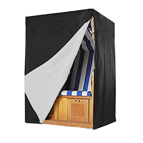 Lanxing Funda para Muebles Muebles de Cubierta Cubierta de la Silla de Playa - Cubierta Protectora de Lujo for la Playa Cesta Impermeable Mesa y sillas Jardin terraza