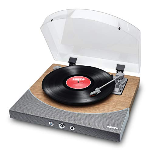 ION Audio Premier LP - Tocadiscos de vinilo Bluetooth, de 3...