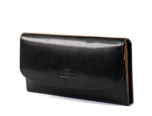 Windrose Merino Schmucktasche 20 cm schwarz