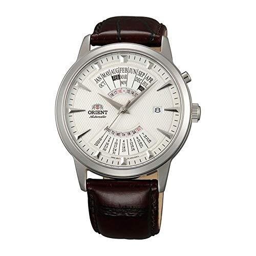 Orient Reloj Analógico para Hombre de Automático con Correa en Cuero FEU0A005WH