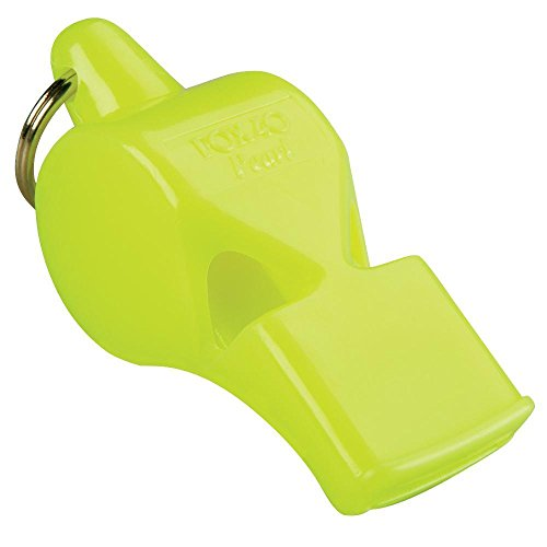 Fox 40 Pearl Whistle, Referee-Coach, Safety Alert, Dog, Rescue, Outdoor-Neon