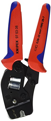 Knipex 97 53 08 SB Selbsteinst. Crimpzange f.Aderendhülsen Länge: 260 mm